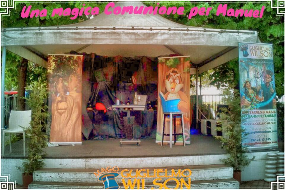 Mago Wilson animazione a Torino e Milano
