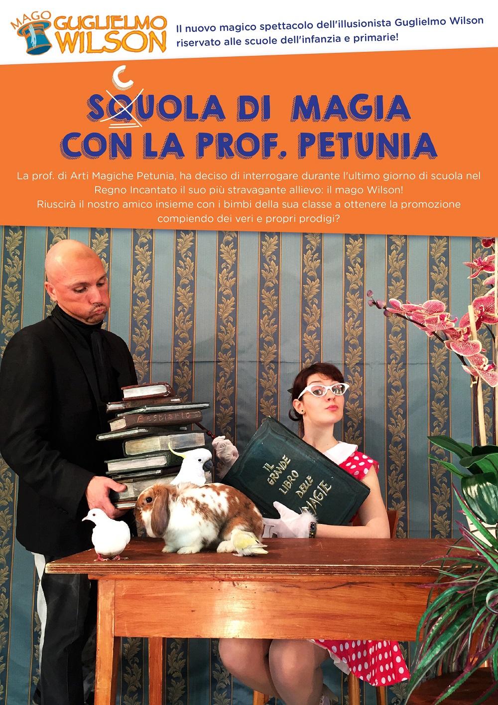 Scuola di Magia con la prof. Petunia