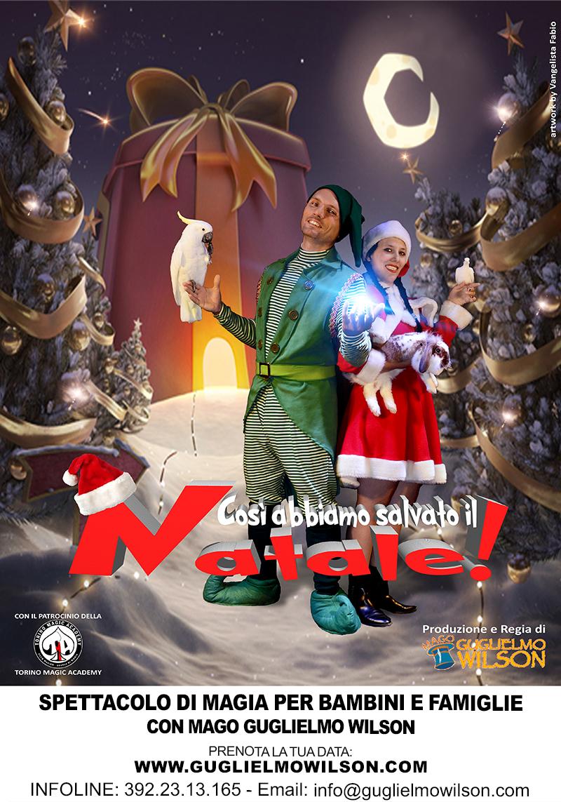 Il mio nuovo spettacolo per il Natale 2016